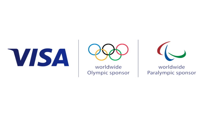 Visa Olympic and Paralympic Games logo